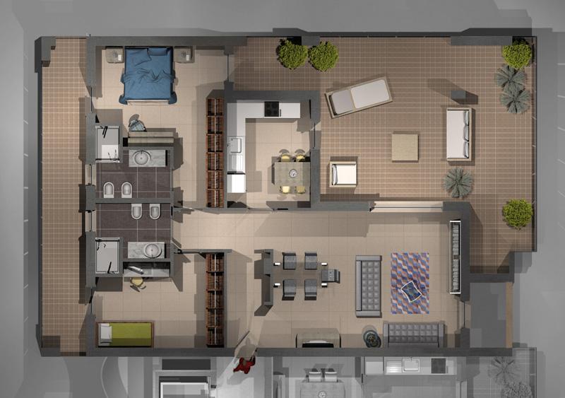 PARCHITELLO ALTA appartamento B69 Nuovi Appartamenti