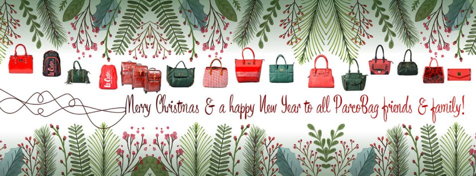 Merry Christmas to all Parco Bags customers