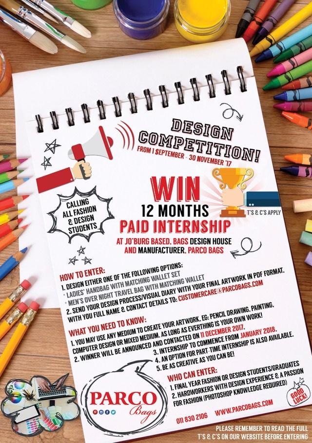 Parco Bags Internship Comptetition