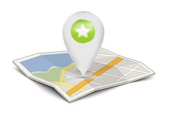 utilizza la mappa del virtual tour della costa dei trabocchi