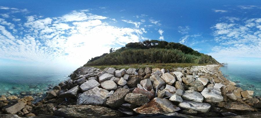 spiaggia Annecchini della costa dei trabocchi