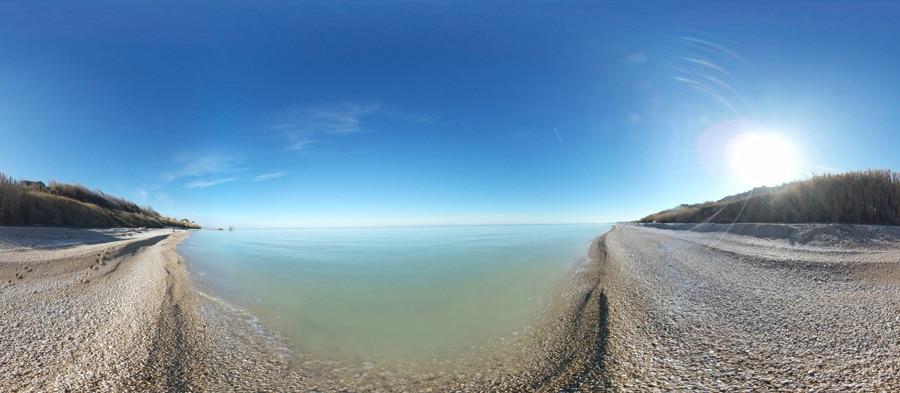 Spiaggia baia del cecetto