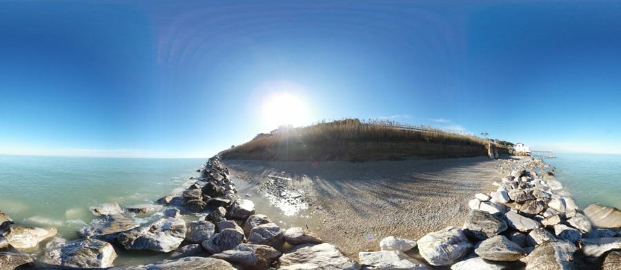 Spiaggia di lago dragoni