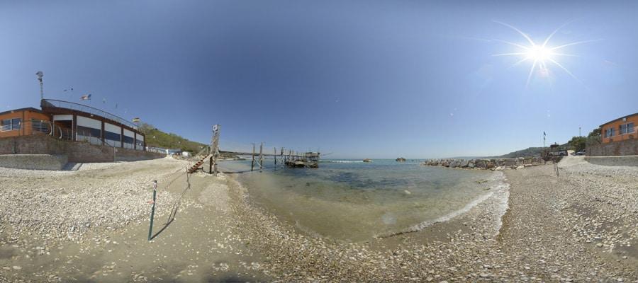 panorama Spiaggia di punta cavalluccio