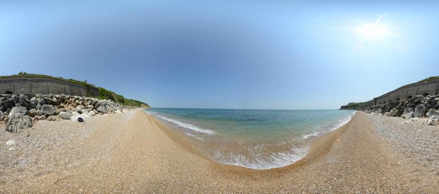 panorama Spiaggia di Punta Ferruccio