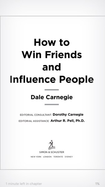 Living The Dale Carnegie Life: How To Win Friends and Influence People