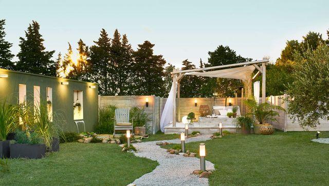 parc jardin maison
