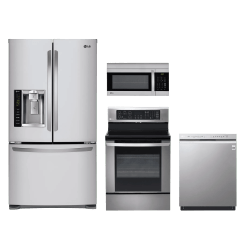 Lg Kitchen Appliance Packages Farmhouse Undermount Sink 4 Piece Package Stainless Steel Lgkitlre3061st Home Appliances Mattress Furniture In Ukiah Ca 95482