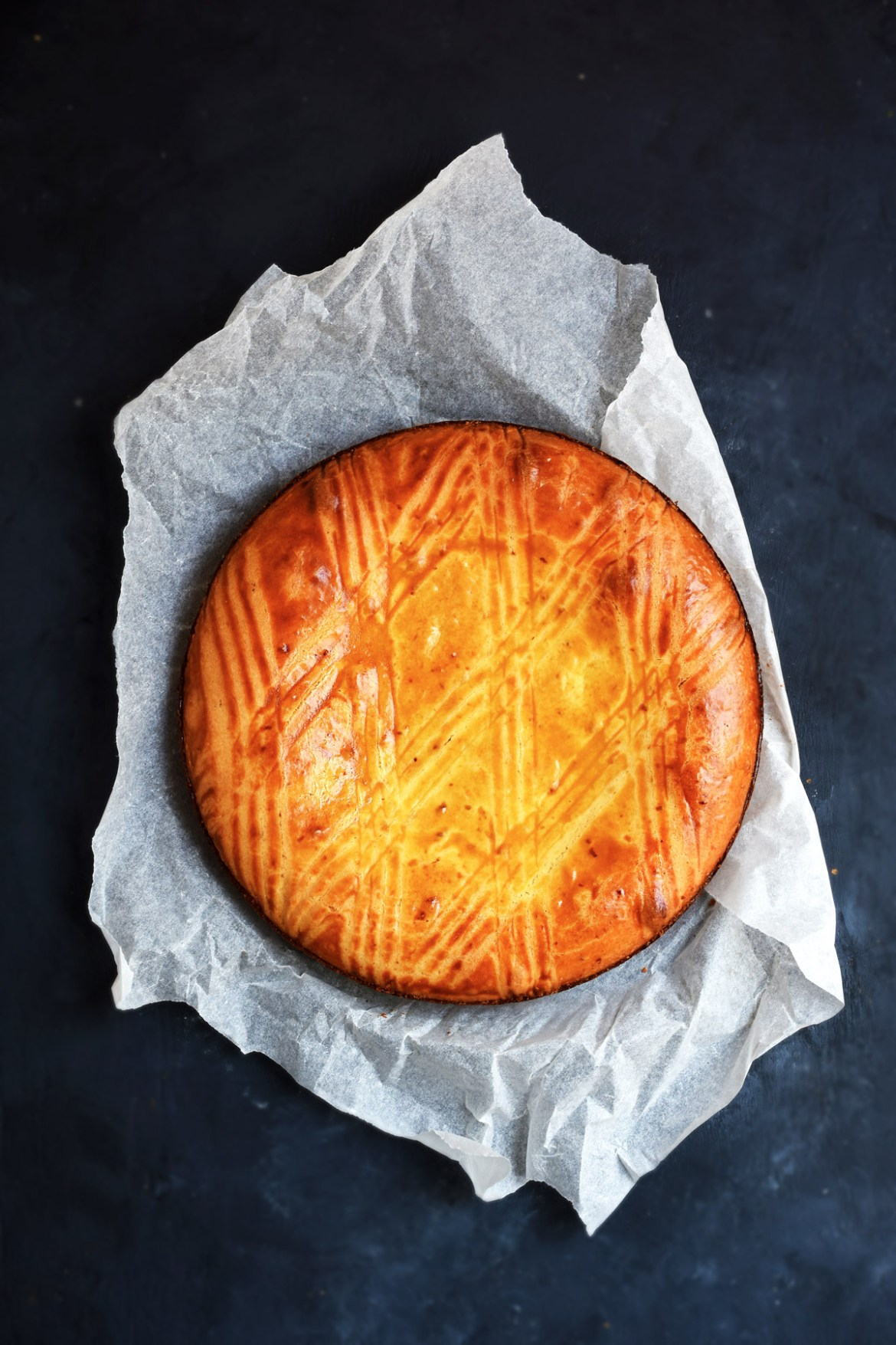 Basque Cake Vanilla Cream
