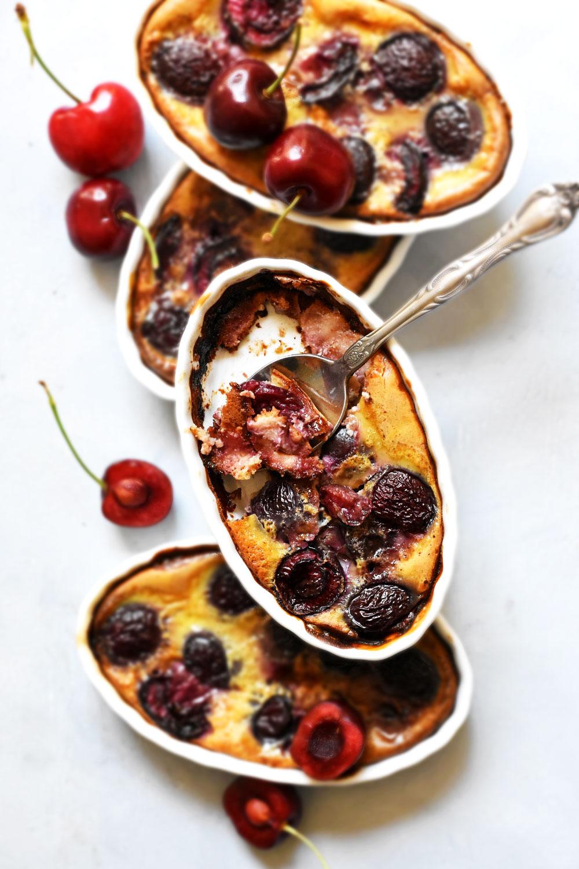 Cherry-clafoutis