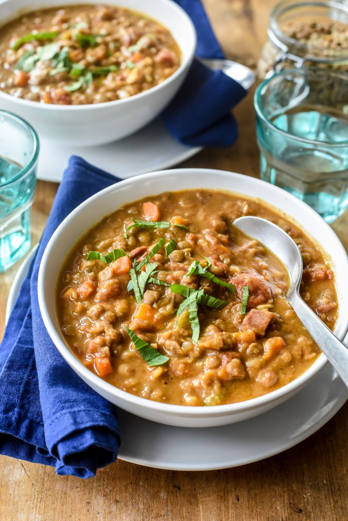 Classic French Lentil Soup