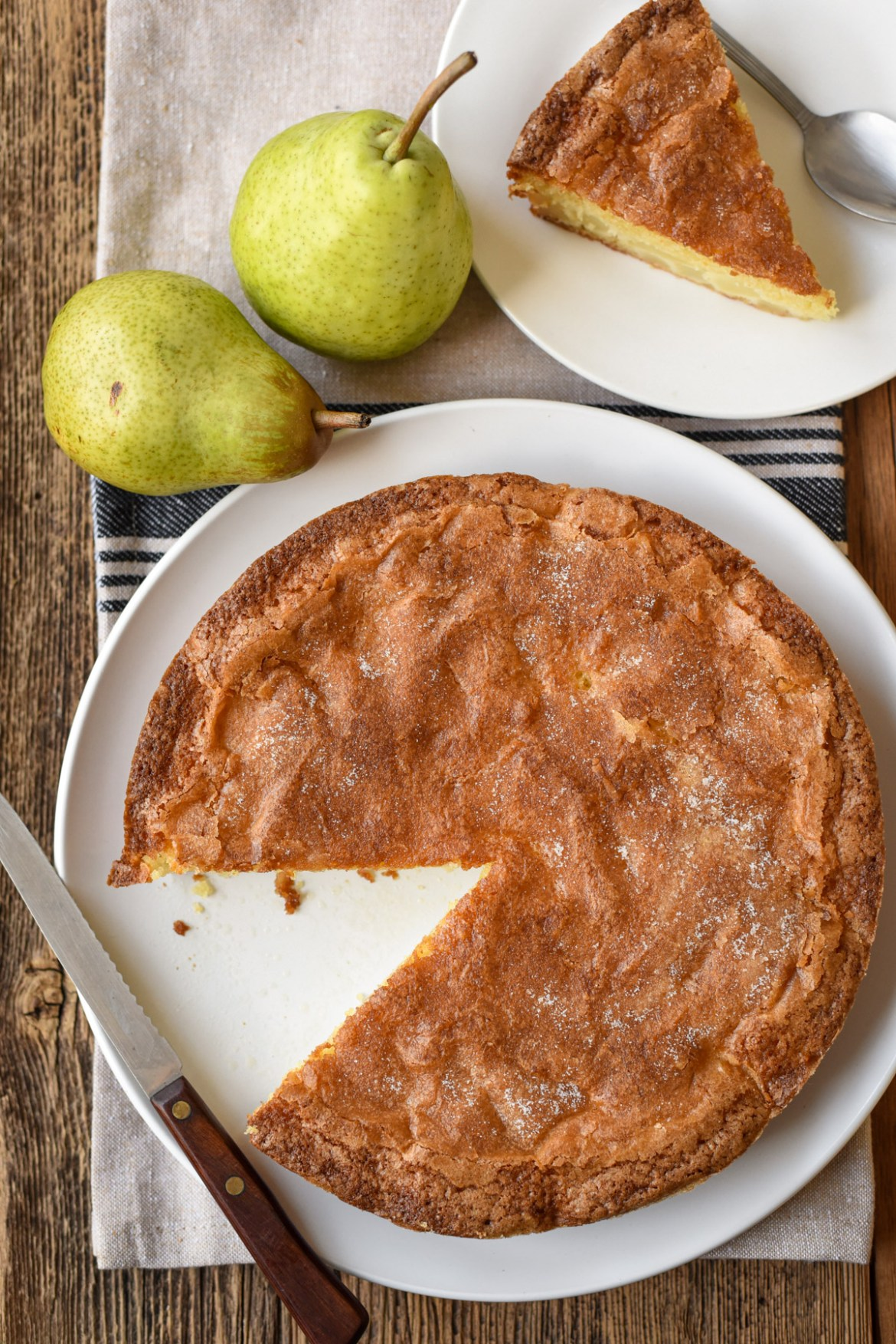 Classic French Pear Cake