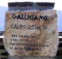 Γκρεκάνικη επιγραφή στην Κάτω Ιταλία