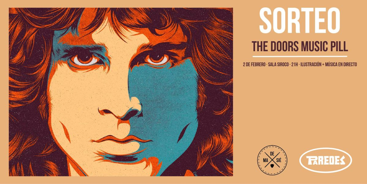sorteo paredes the doors music pill