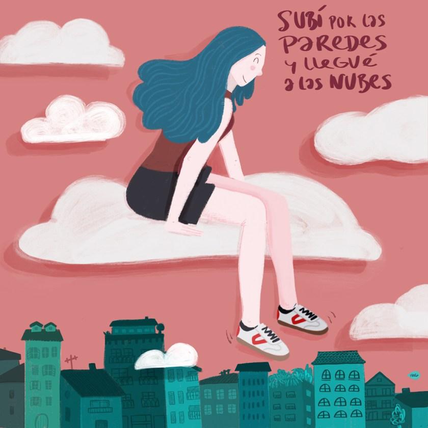 Paredes con la ilustración española. Conoce a Vireta