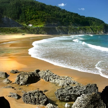 Playa de Laga, País Vasco