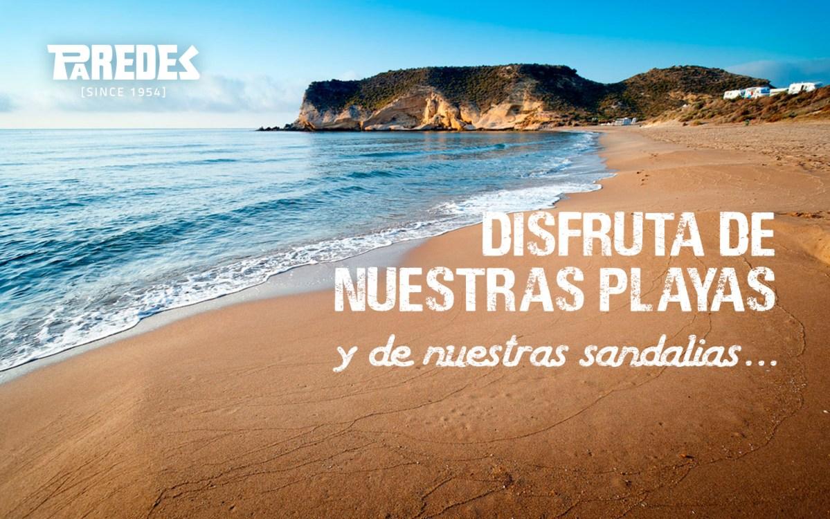 mejores playas españolas sandalias paredes