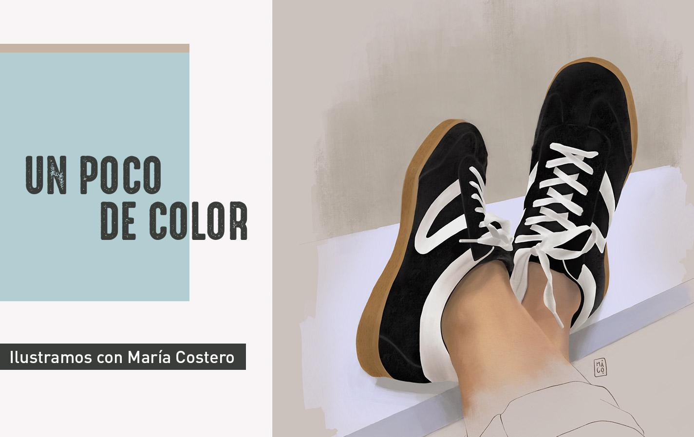 Ilustración española María Costero Blog Paredes