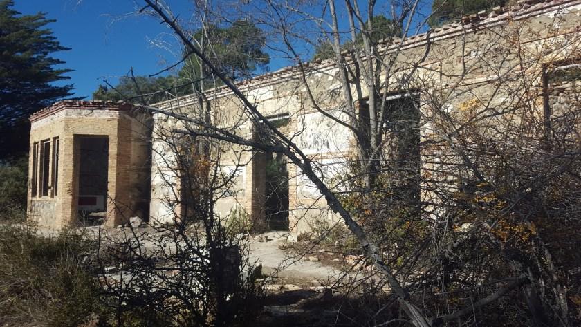 Halloween Lugares de terror Sanatorio de Alfaguara