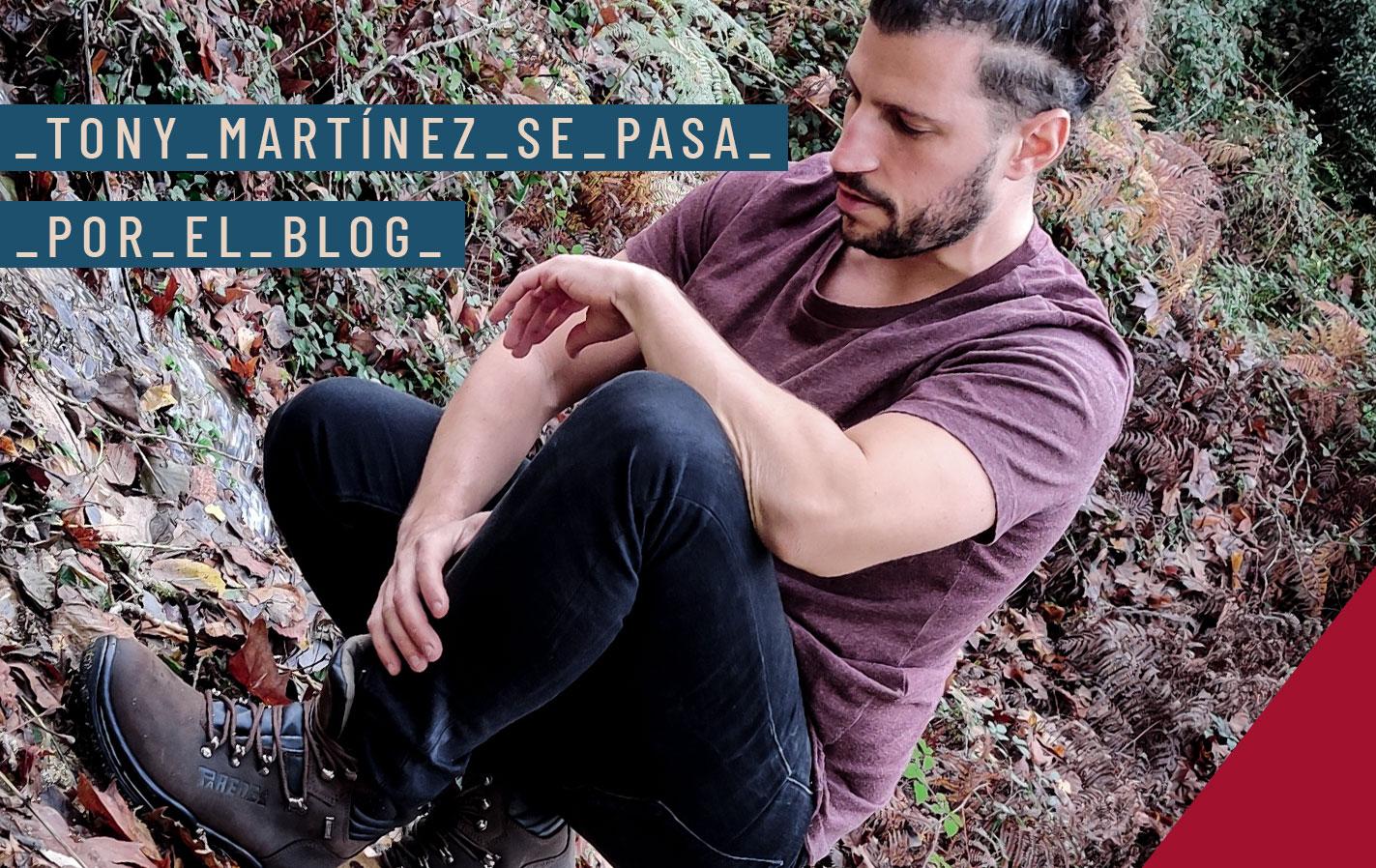 Tony Martínez se pasa por el Blog de Paredes