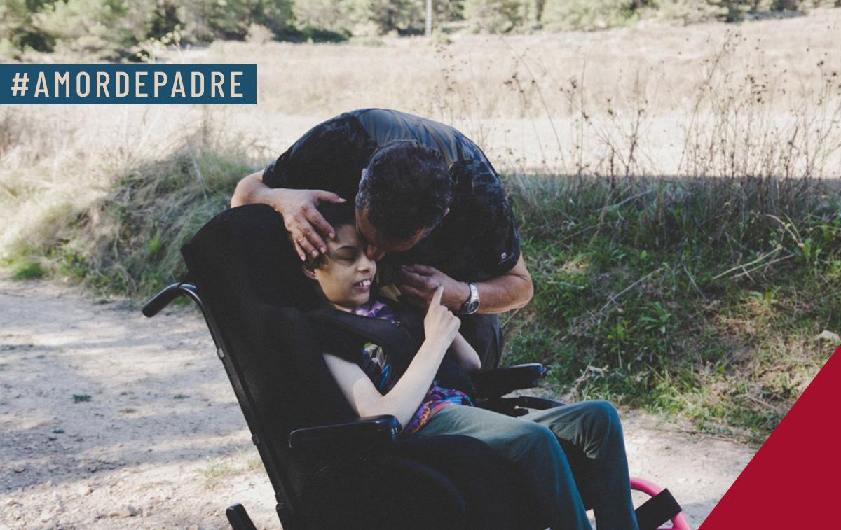 Una historia de amor incondicional, feliz Día del Padre.
