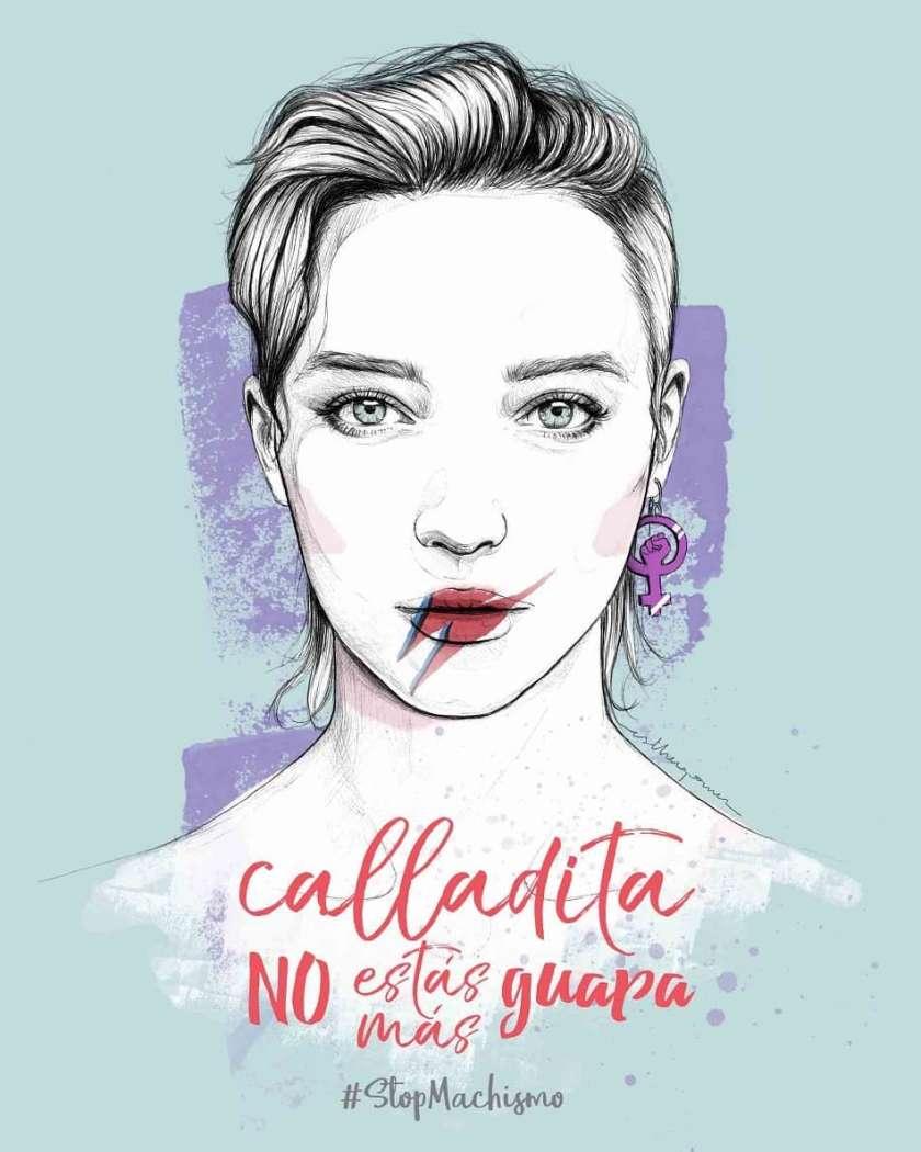Illustración Esther Gómez para el Día de la Mujer Blog Paredes