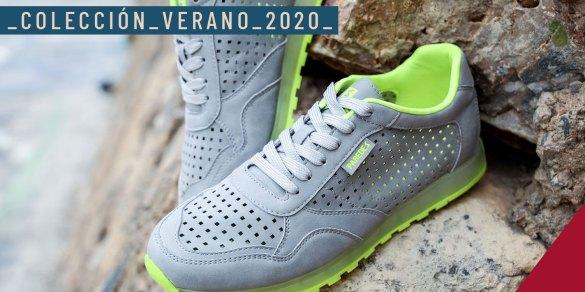 coleccion verano 2020 sandalias y zapatillas paredes