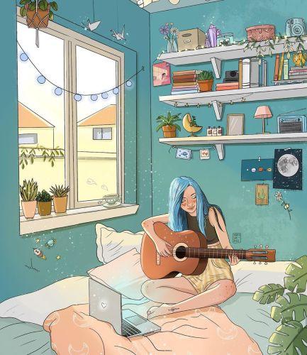 marta pineda ilustración blog paredes