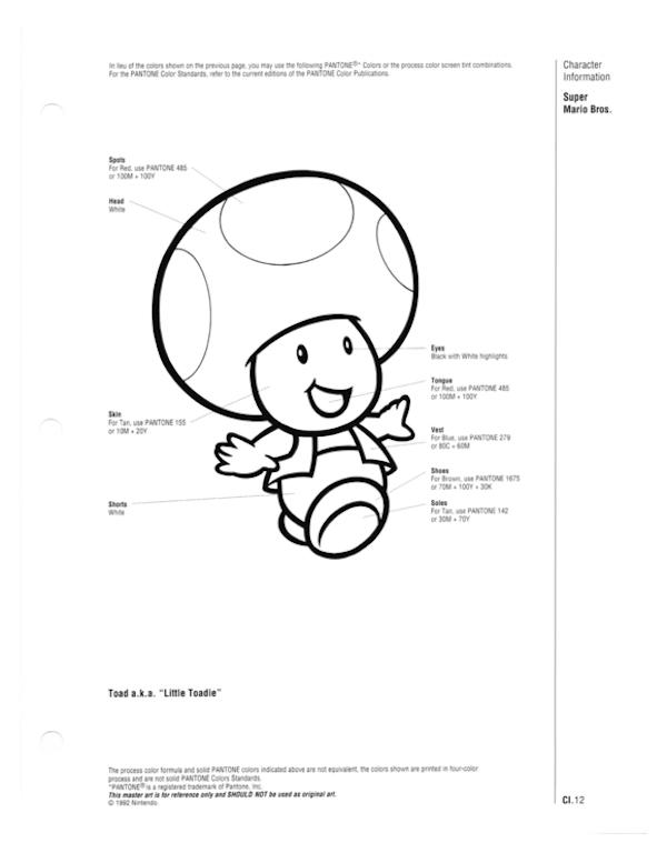 Pantones de Mario Bros. son revelados