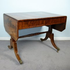 Regency Mahogany Sofa Table Childrens Chair Antique By Wilkinson London