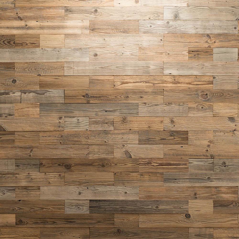 revetement mural bois nature mur en bois recycle wooden wall