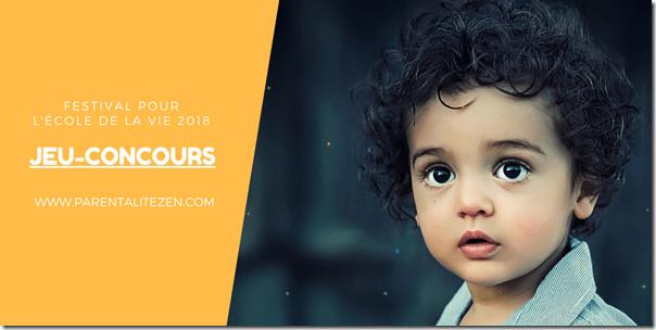 Jeu-Concours Festival pour l'Ecole de la Vie