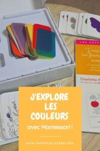 Pinterest - J'explore les couleurs