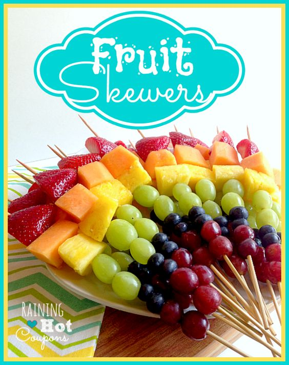 healthy fruit kebabs