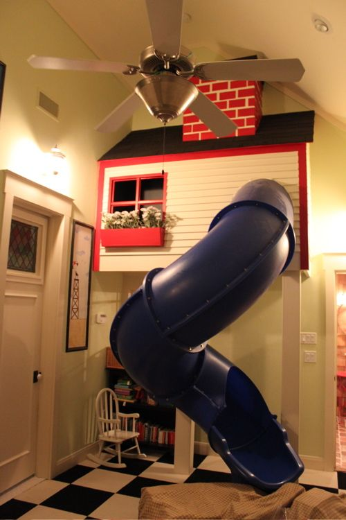 House with a Slide