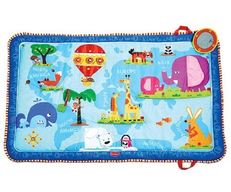 Tiny Love Discover The World Mat review