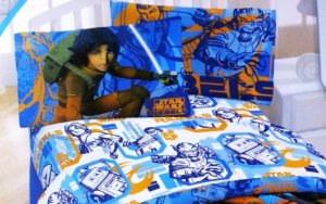 "Lucas Film Star Wars Rebels ""Fight"" Sheet Set, Full"