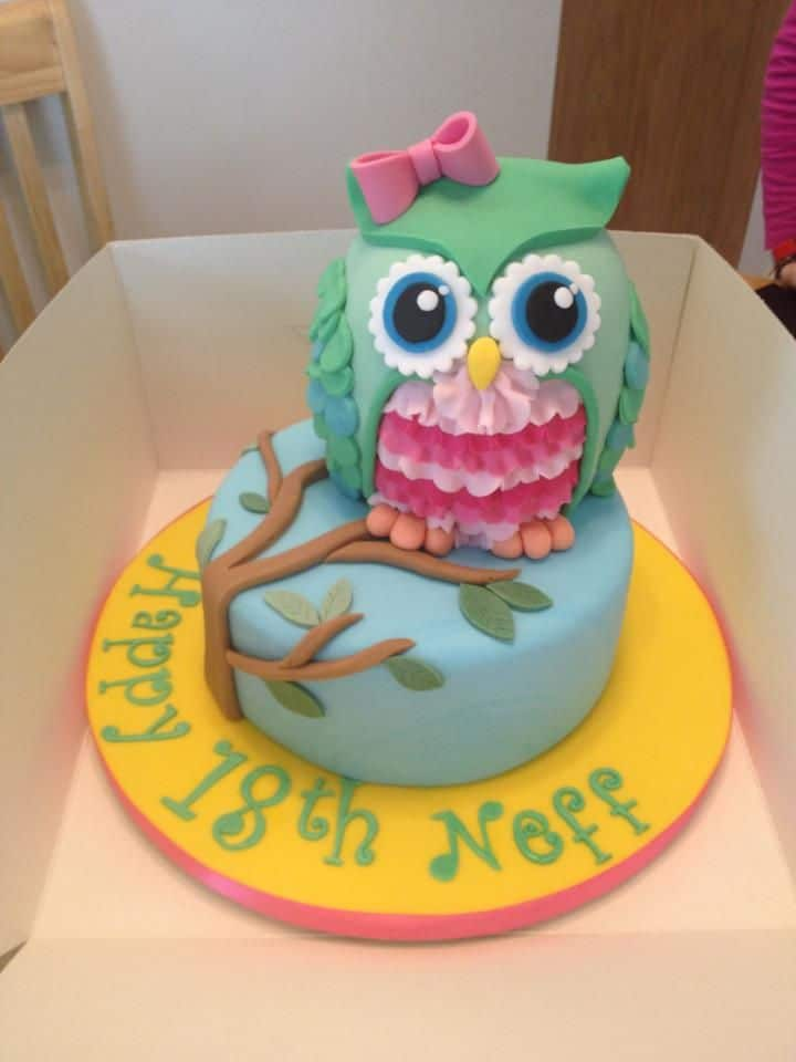 Magnificent 15 Most Amazing Owl Birthday Cakes Parental Journey Funny Birthday Cards Online Elaedamsfinfo