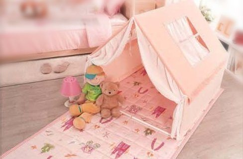 Ebonia Princess Prince Play Tent (Light Pink)