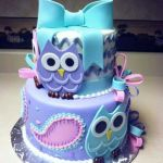 Amazing Owl Birthday Cake