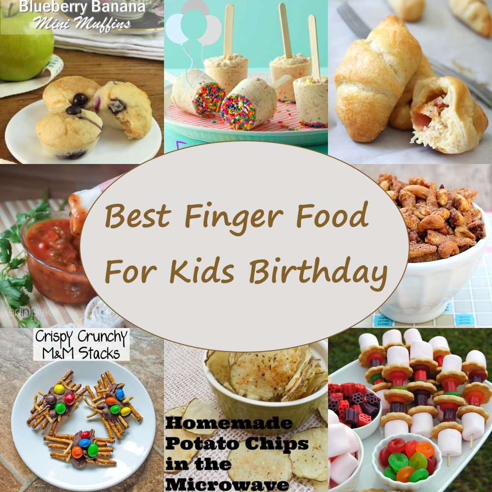 Yummy Finger Food At My Birthday Party