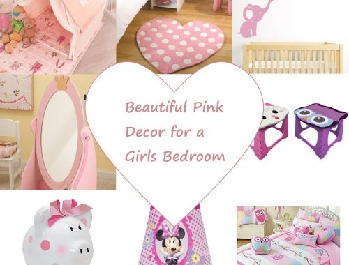 Beautiful Pink Decor for a Girls Bedroom