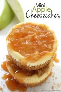 Mini Apple Cheesecakes