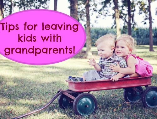 leaving kids with grandparents