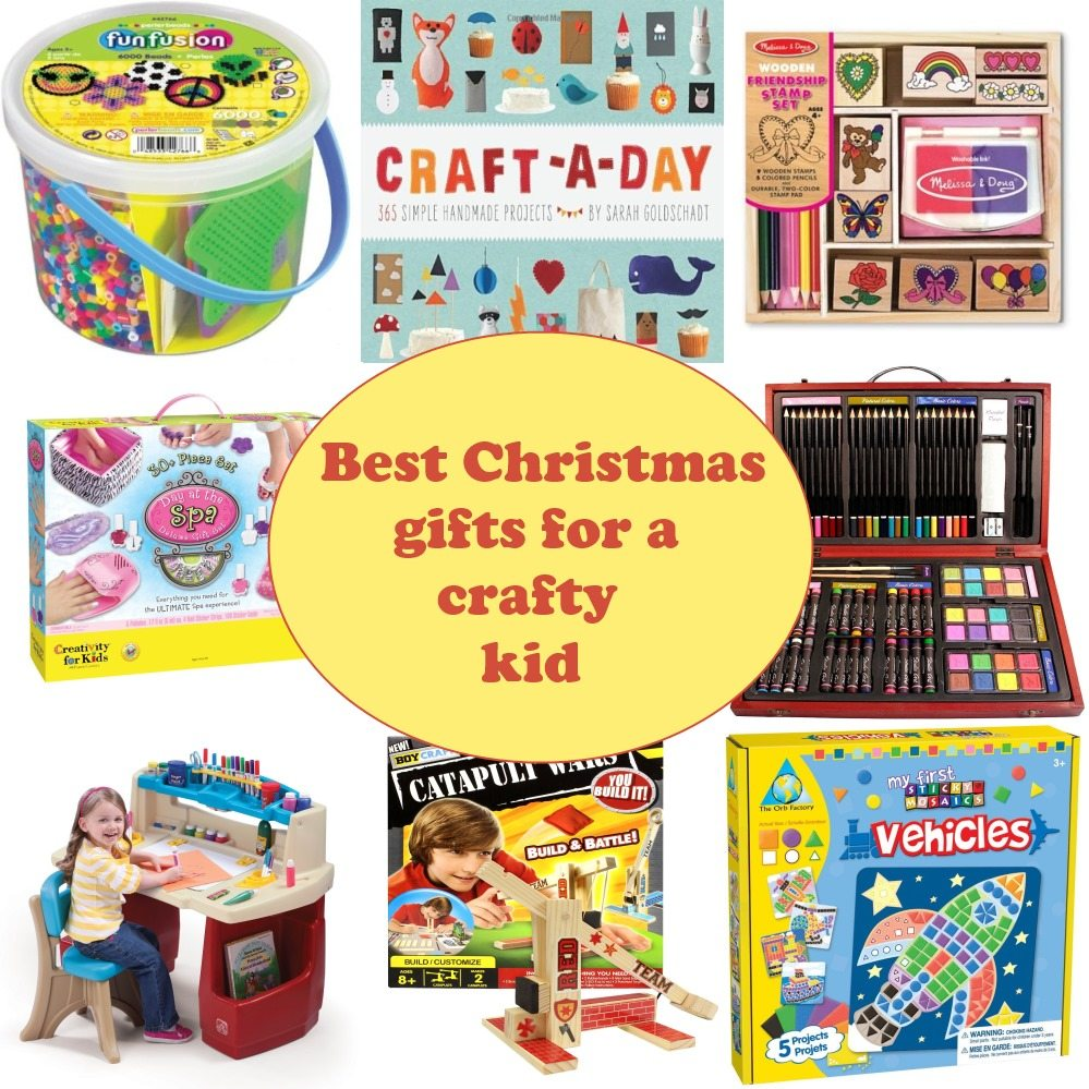 Best Christmas gifts for a crafty kid