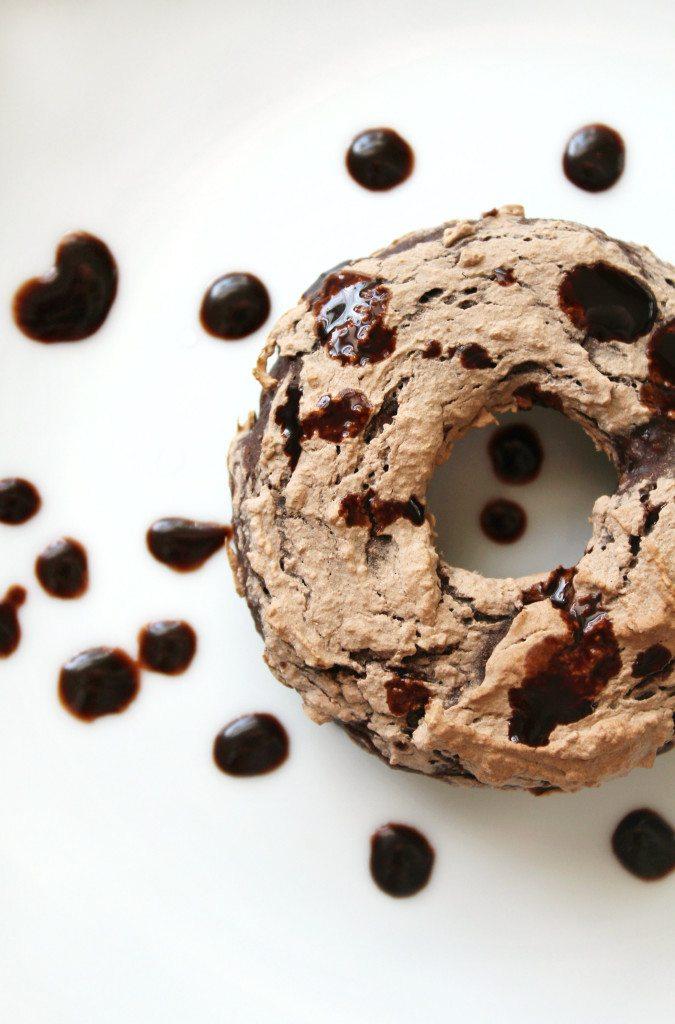 Triple Chocolate Doughnuts