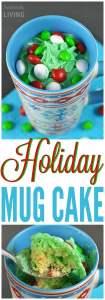 Holiday Mug Cake