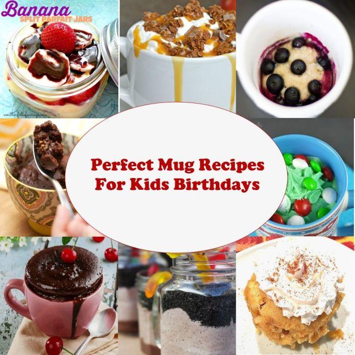Perfect Mug Recipes For Kids Birthdays