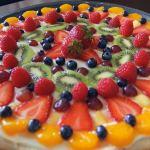 12 fruit pizza