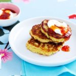 16 vegetable fritters